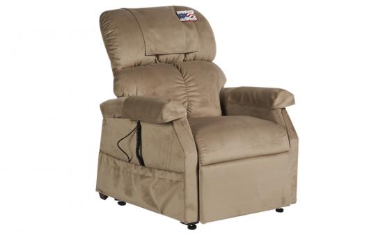 Fauteuil releveur Confort Plus Mini 1 moteur daim assis