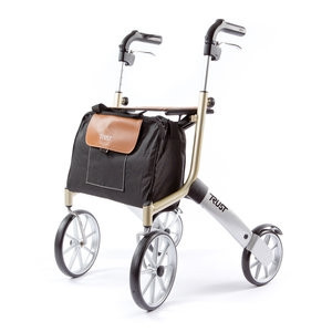 Rollator Let's go out Beige - Mobio