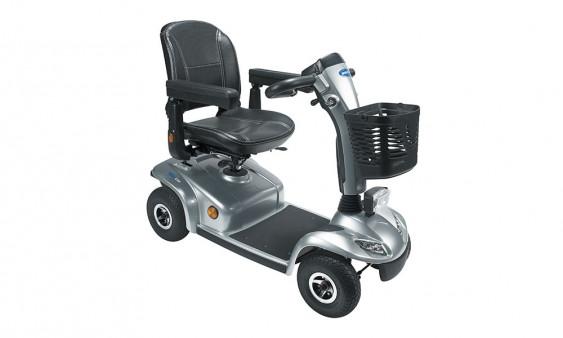 Scooter Leo 4 roues gris lunaire