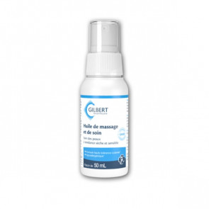 Huile de massage et soin spray - Laboratoire Gilbert