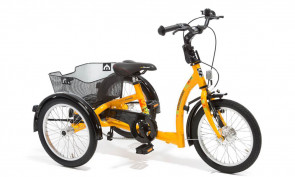 Tricycle handicap Momo Jaune