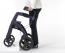 Rollator 4 roues Rollz Motion mauve matte foncé - Mobio