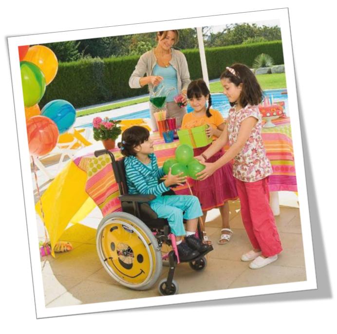 Fauteuil roulant manuel enfant Action 3 Junior
