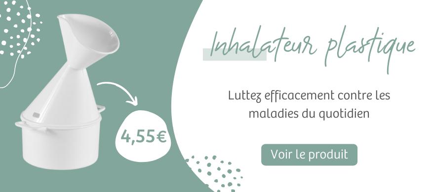 bannière inhalateur plastique | Harmonie Médical Service