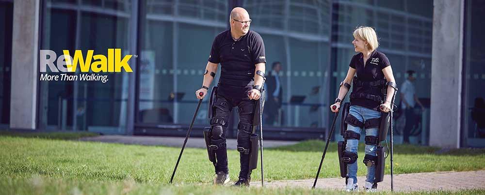 L'exosquelette Rewalk