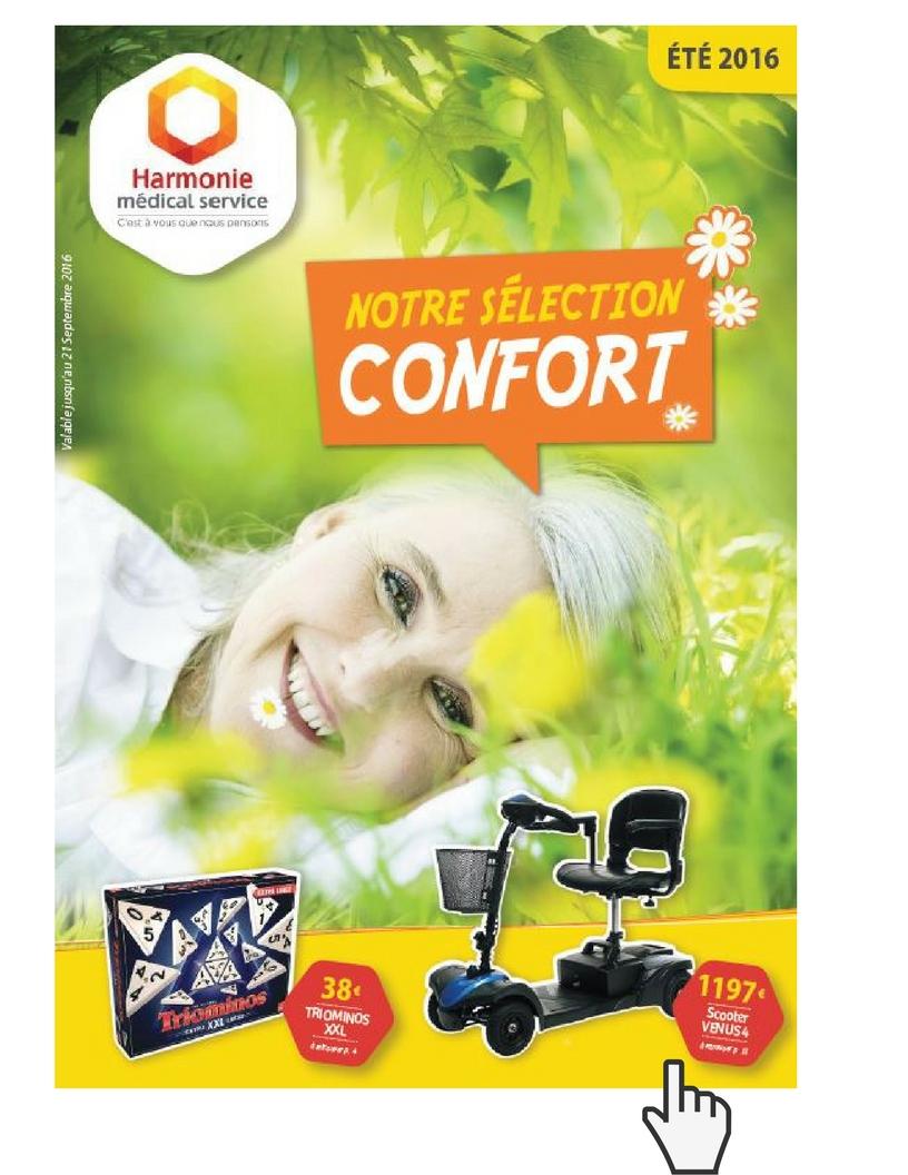 Catalogue Confort été 2016