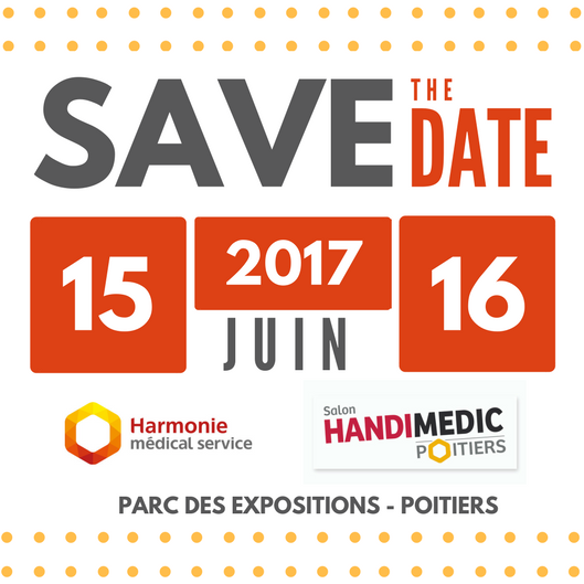 Save the date - Salon Handimedic 2017