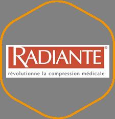Radiante | Partenaire Orthopédie HMS