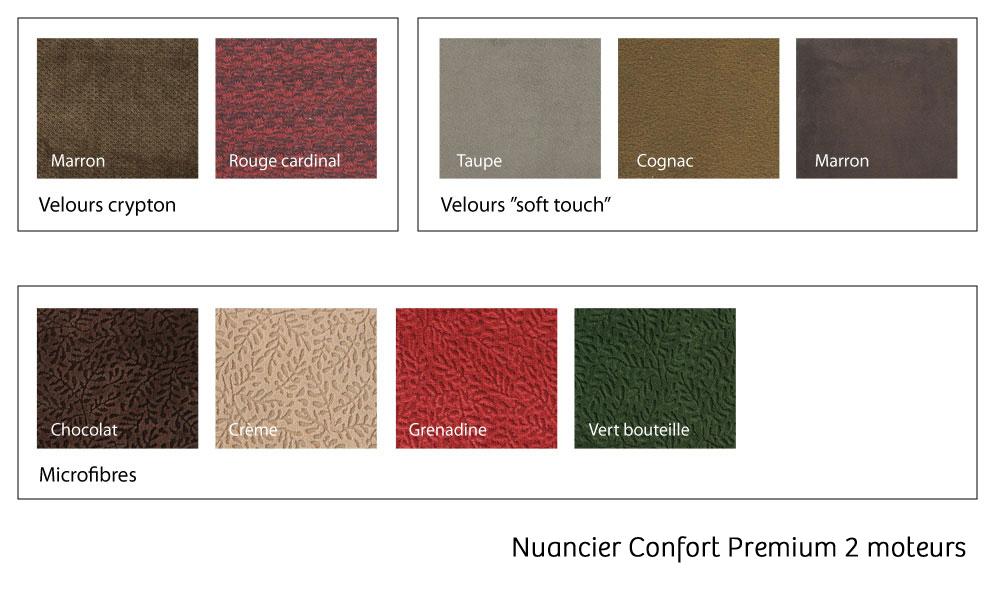 Nuancier Confort Premium 2 moteurs