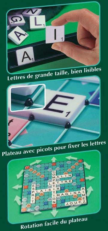 Scrabble géant pour sénior