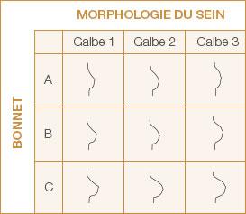 Prothèse mammaire externe Contact galbe et morphologie