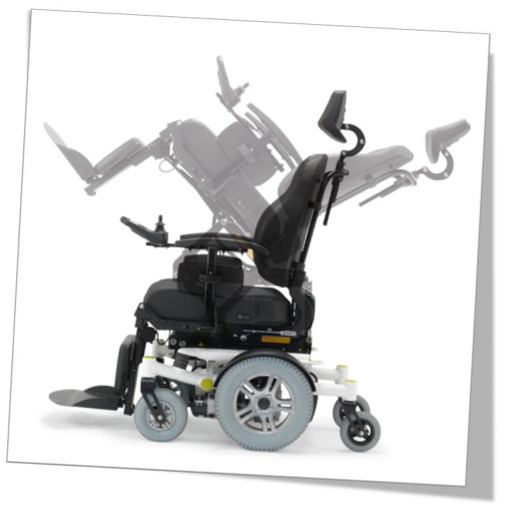 Fauteuil roulant électrique Samm You-Q réglable