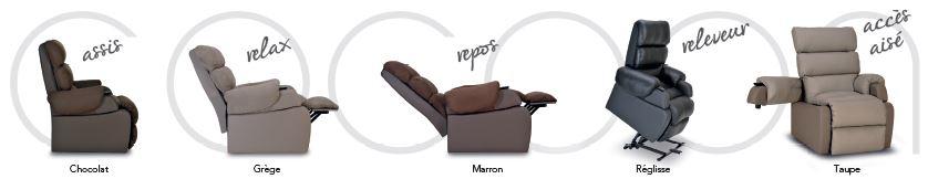 fauteuil Cocoon Nuancier