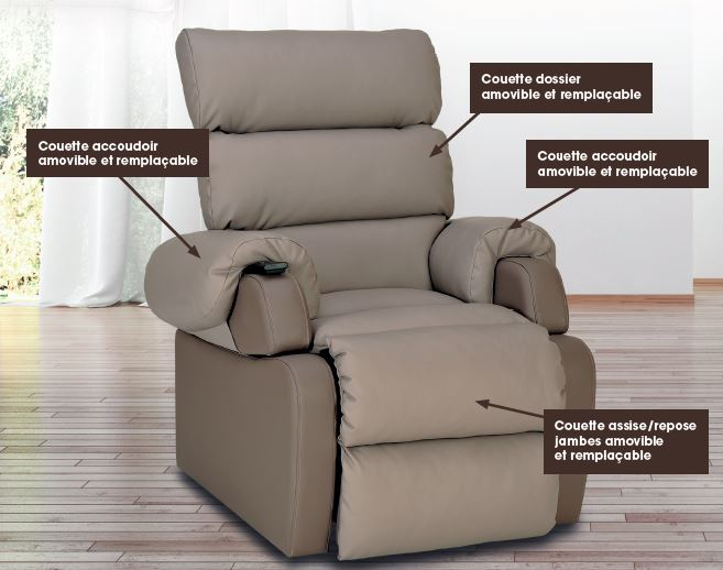 fauteuil Cocoon modules